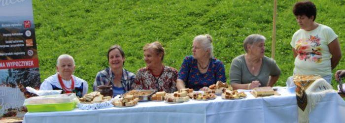 Spotkanie z Gorcami - piknik w Jaszczem, 2017